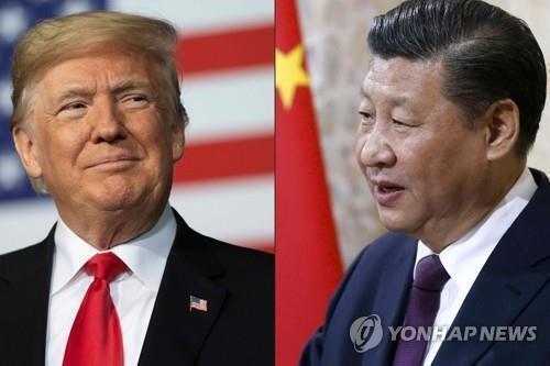 도널드 트럼프 미국 대통령과 시진핑 중국 국가주석 [AFP=연합뉴스]