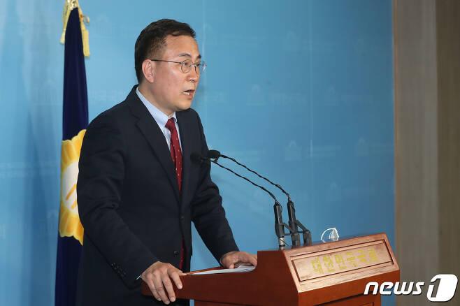 최형두 미래통합당 원내대변인.. © News1 임세영 기자