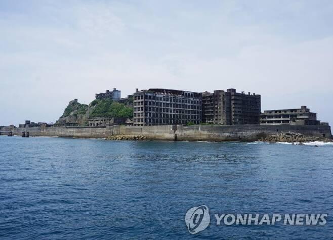 조선인이 강제징용돼 노역했던 일본 하시마(군함도) 섬 [서경덕 교수 제공]