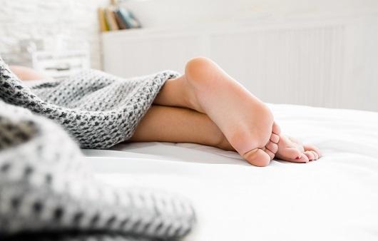 알몸 수면의 효과