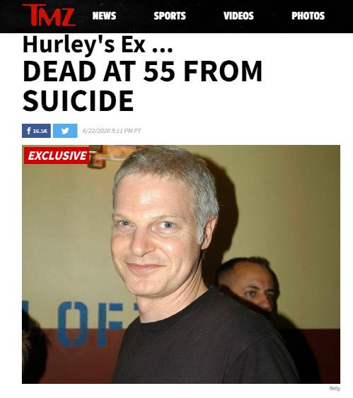할리우드 유명 제작자 스티브 빙이 22일(현지시간) 극단적 선택으로 사망했다. 출처|TMZ