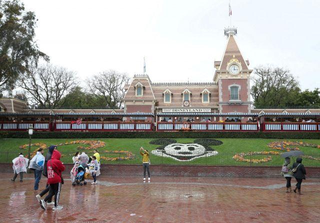 미국 캘리포니아 주 애너하임 소재 디즈니랜드 입구, 로이터 연합뉴스