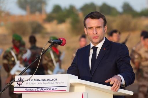에마뉘엘 마크롱 프랑스 대통령. 연합뉴스