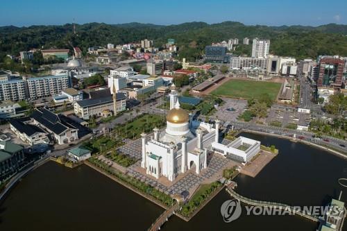 브루나이, 50일 연속 코로나 신규 확진자 '0명' [AFP=연합뉴스]