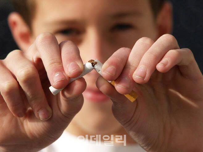 부러진 담배(사진=픽사베이 제공)