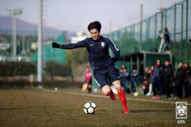 대전하나시티즌에서 뛰게 될 서영재. (대한축구협회 제공) © 뉴스1