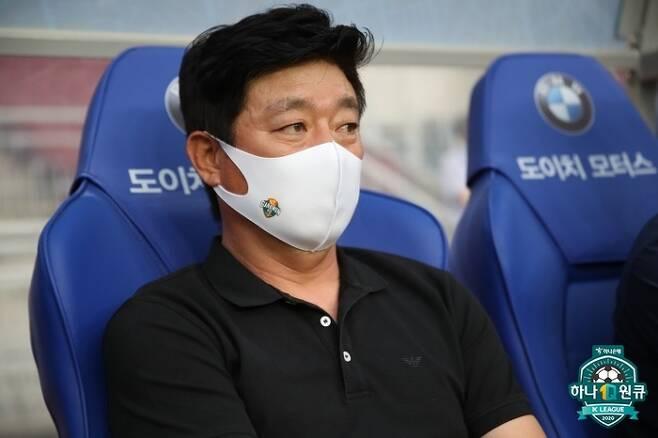 김병수 강원FC 감독. 사진=프로축구연맹 제공