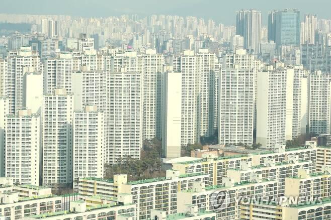 서울 시내 아파트 단지 [연합뉴스 자료사진]