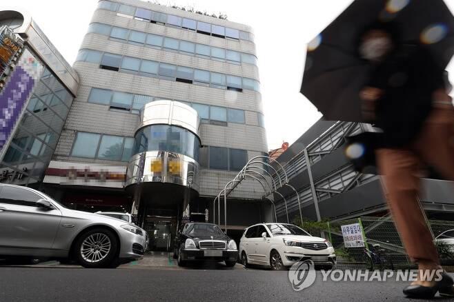 광주 동구 금양오피스텔 건물 전경 [연합뉴스 자료사진]