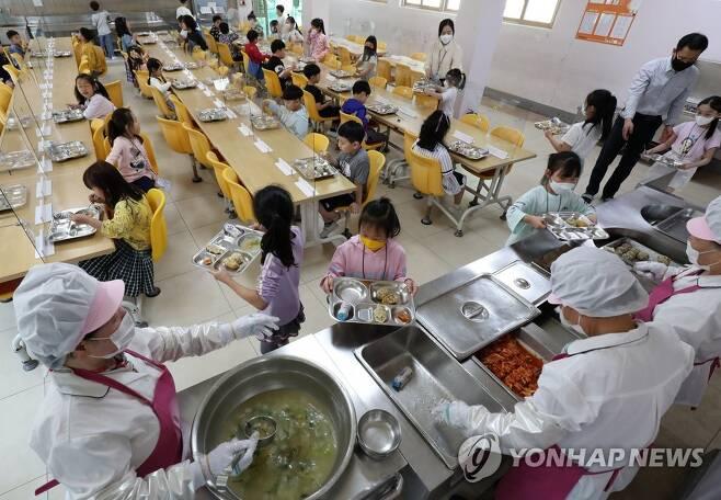 학교 급식 [연합뉴스 자료사진]