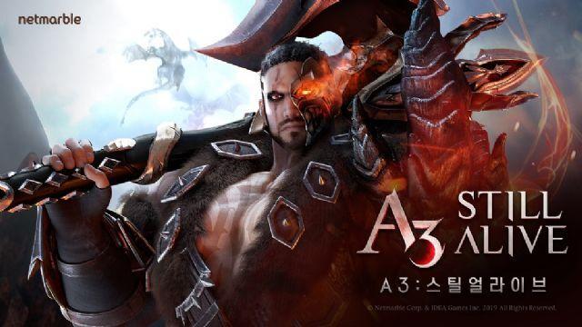 MMORPG와 MOBA을 하나의 게임에 담은 A3 스틸얼라이브.
