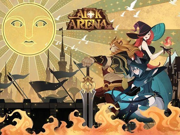 방치형 게임에 수집형RPG 요소를 더한 AFK아레나.
