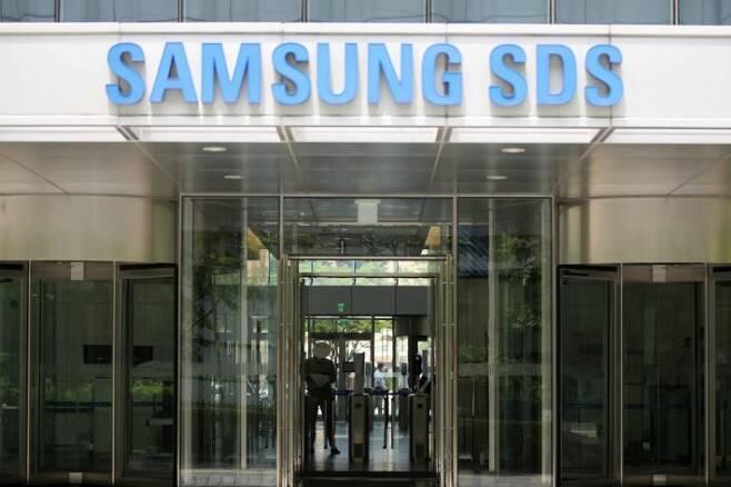 확진자 발생에 삼성SDS 잠실 사옥 폐쇄. (사진=연합뉴스)