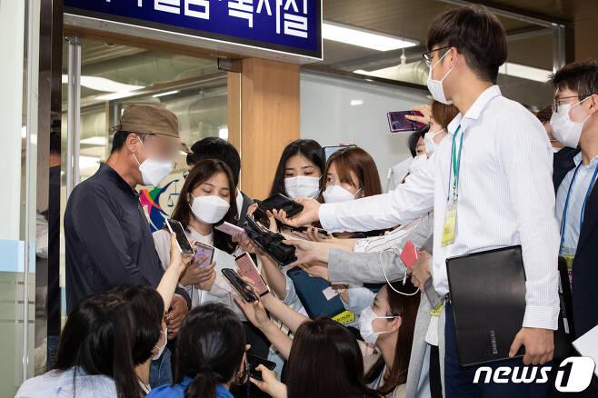손정우씨의 아버지. © News1 유승관 기자