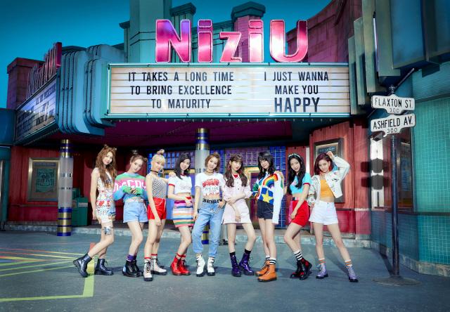 걸그룹 '니쥬'. /사진제공=JYP엔터테인먼트·Sony Music Entertainment (Japan) Inc.