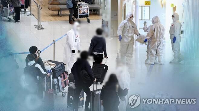 수도권·대전 집단감염 확산…해외유입도 증가 (CG) [연합뉴스TV 제공]