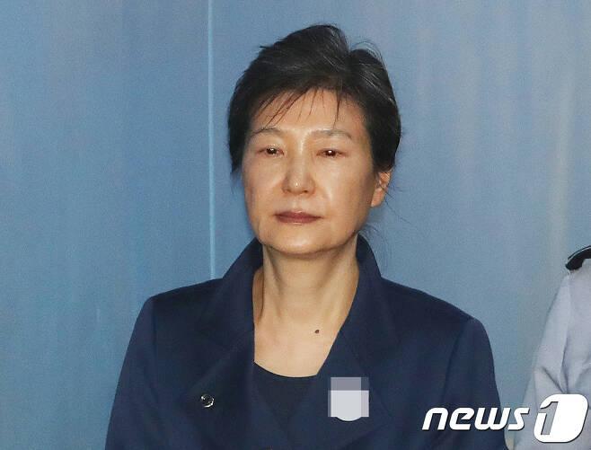 박근혜 전 대통령/뉴스1