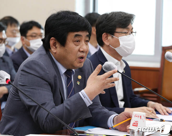 한상혁 방송통신위원회 위원장. 2020.6.17/뉴스1 © News1 신웅수 기자