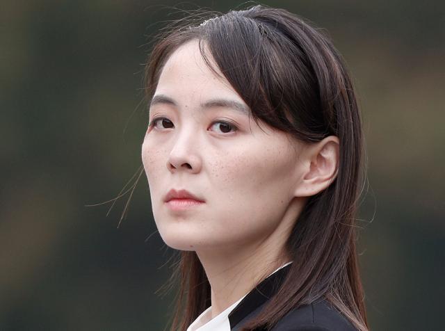 김여정 북한 노동당 제1부부장.