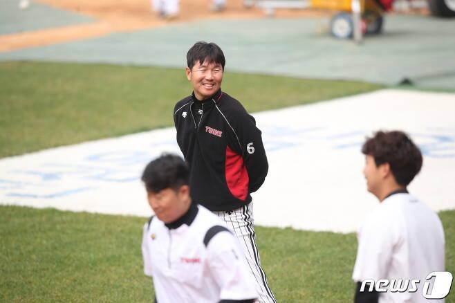 LG 유지현 수석코치가 류지현 수석코치로 새 출발한다. (LG 트윈스 제공)© 뉴스1