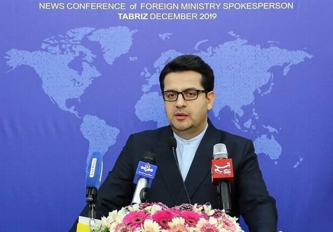세예드 아바스 무사비 이란 외교부 대변인 - 이란 타스님통신 갈무리