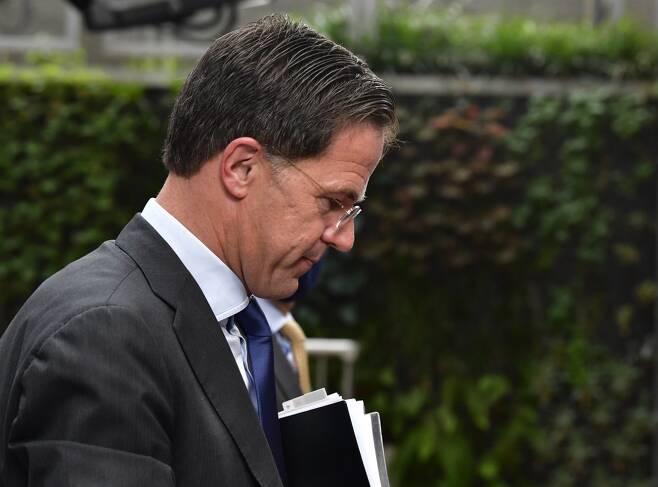 마르크 뤼테 네덜란드 총리/사진=AFP