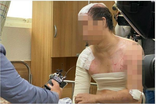 (사진=연합뉴스) 가혹행위를 증언하는 피해자