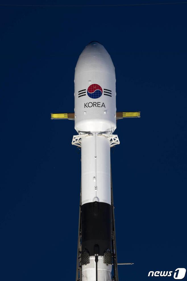 아나시스 2호 발사 준비 모습. (방위사업청 제공) 2020.7.21/뉴스1