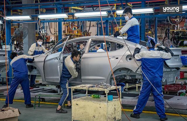현대자동차 베트남 생산합작법인 공장. 현대자동차 제공