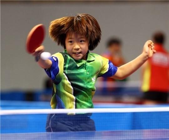 신유빈은 초등학교 시절부터 탁구 신동으로 전국적인 유명세를 치렀다(사진=대한탁구협회)