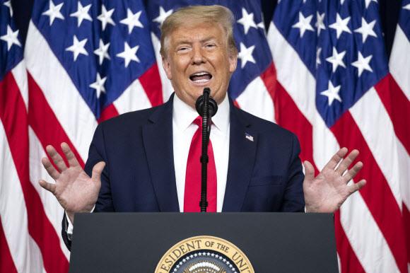 도널드 트럼프 미국 대통령. AP 연합뉴스