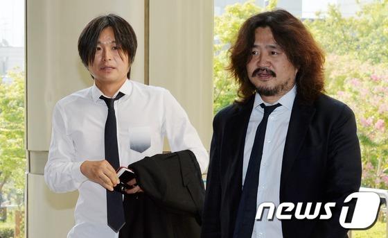 방송인 김어준씨(오른쪽)와 주진우 기자. 2016.9.23/뉴스1 © News1 박지혜 기자