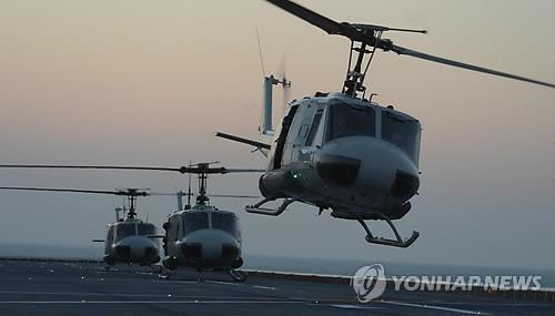 UH-1H 헬기 [연합뉴스 자료사진]