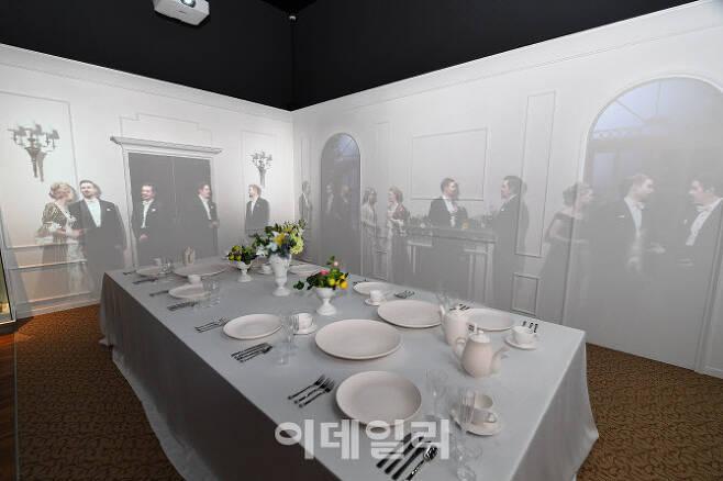 조선후기 왕실에서 사용하던 서양식 식기를 모습(사진=문화재청)