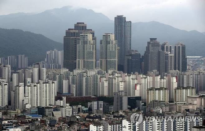 서울 강남구 대치동 일대 아파트 단지 [연합뉴스 자료사진]