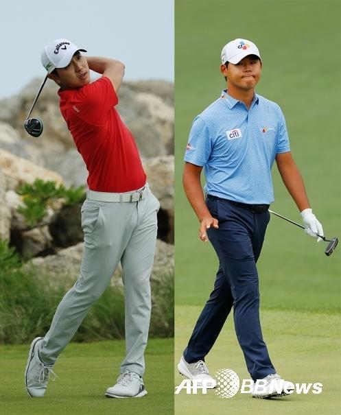 2020년 PGA 투어 배라큐다 챔피언십에 출전하는 배상문과 김시우 프로. ⓒAFPBBNews = News1