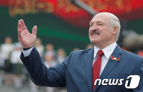 알렉산드르 루카셴코 벨라루스 대통령이 코로나19에 감염됐다 완치된 것으로 드러났다./사진=(로이터=뉴스1)