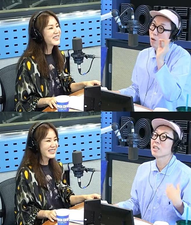 김영철의 파워FM, 엄정화 김영철