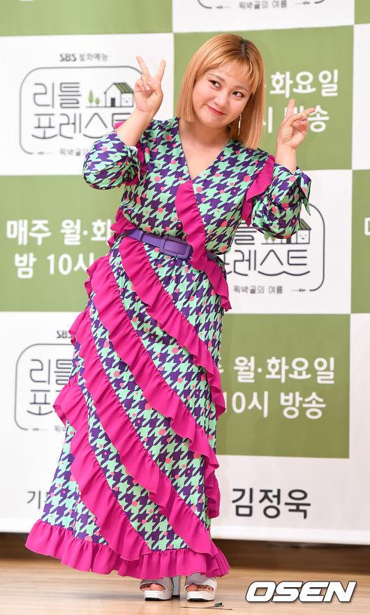 [OSEN=최규한 기자]배우 박나래가 참석해 포토타임을 하고 있다. /dreamer@osen.co.kr