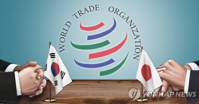 WTO 한일 분쟁 (PG) [장현경 제작] 일러스트