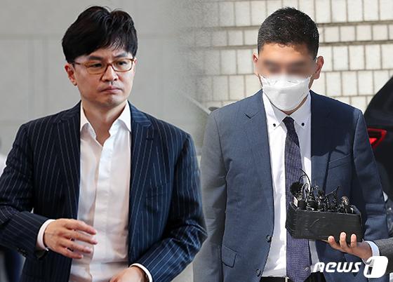 한동훈 검사장(왼쪽)과 이동재 전 채널A 기자. © News1 이지원 디자이너