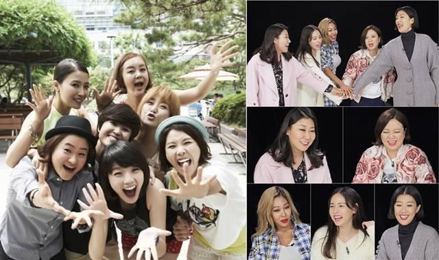 과거 여성 출연진 중심으로 꾸려진 예능프로그램은 MBC every1에서 선보인 '무한걸스'(왼쪽)와 KBS2 '언니들의 슬램덩크'가 있었다. /MBC every1·KBS2 제공