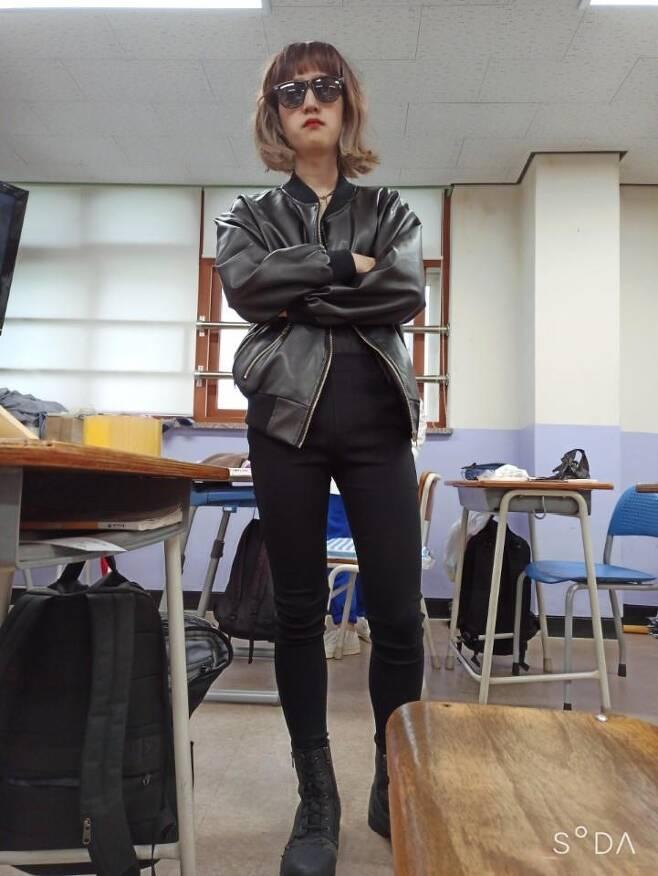 드라마 '이태원 클라쓰'의 조이서 코스프레 [독자 제공. 재판매 및 DB 금지]