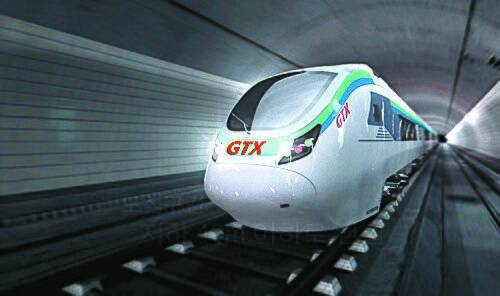 GTX 열차 조감도. [국토교통부 제공]