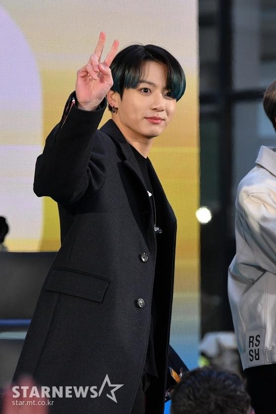방탄소년단 정국(BTS JUNGKOOK) /AFPBBNews=뉴스1=스타뉴스