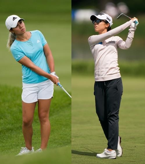 2020년 미국여자프로골프(LPGA) 투어 마라톤 클래식에 출전하는 다니엘 강과 리디아 고. 사진제공=Courtesy of The PGA of America