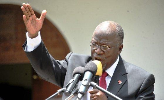 존 마구풀리 탄자니아 대통령.[로이터=연합뉴스]
