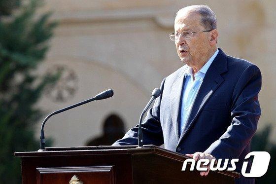 미셸 아운 레바논 대통령/사진=(AFP=뉴스1)