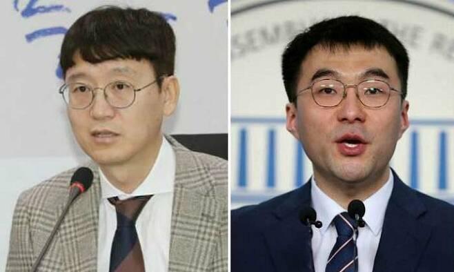 미래통합당 김웅 의원(왼쪽), 더불어민주당 김남국 의원(사진=연합뉴스/자료사진)