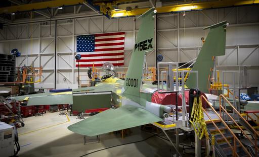 미국 보잉이 제작하는 F-15EX는 F-15 전투기의 최종 개량형이다. 보잉 제공
